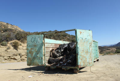 Cherry Creek Dumpster