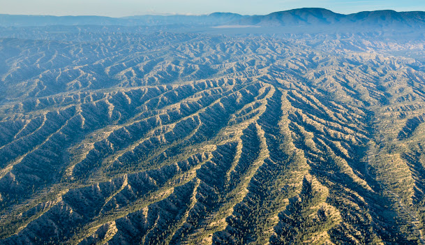 Chumash Badlands; imoage courtesy Ronald L. Williams and Lighthawk