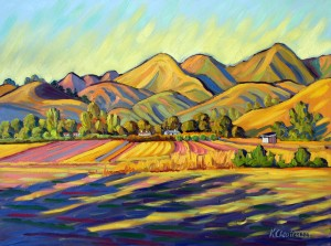 """Sedgwick Ranch"" Ken Christensen, 30″ x 40″ $3,900"