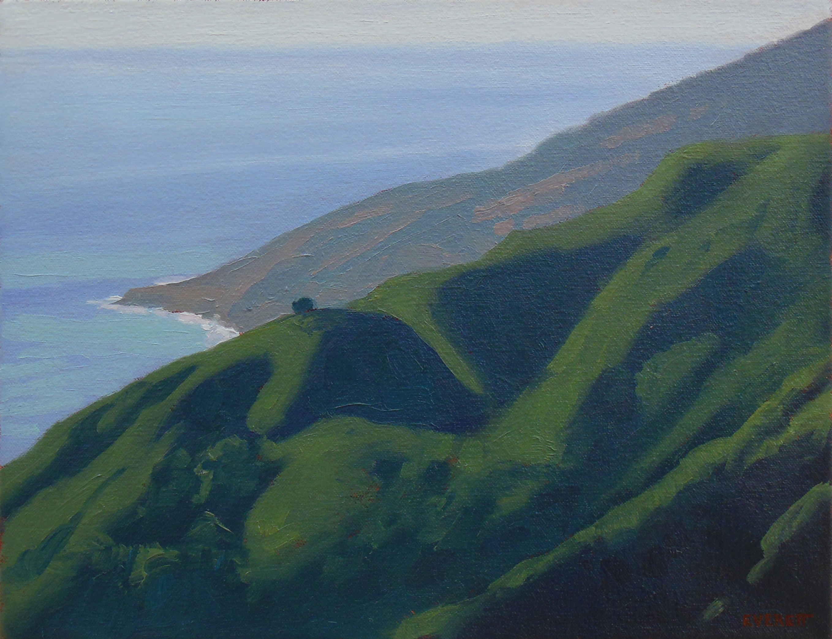 """Lopez Point"" Bruce Everett, oil, 11"" x 14"" $700"