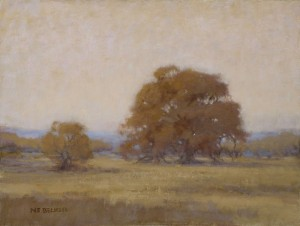 """Forest Oaks"" Nancy Becker, oil on canvas, 12″ x 16″ $995"