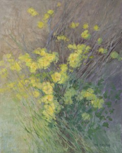 """Sourgrass"" Nancy Becker, oil on linen, 20″ x 16″ $1600"